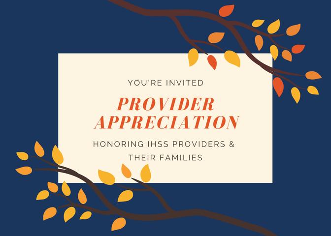 2018 Provider Appreciation